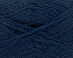 Fiber Content 50% Acrylic, 30% Wool, 20% Polyamide, Navy, Brand ICE, Yarn Thickness 2 Fine  Sport, Baby, fnt2-42420