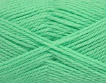 Fiber Content 50% Acrylic, 30% Wool, 20% Polyamide, Brand Ice Yarns, Apple Green, Yarn Thickness 2 Fine  Sport, Baby, fnt2-42425