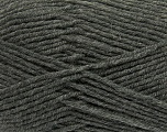 Fiber Content 50% Acrylic, 50% Wool, Brand ICE, Grey, Yarn Thickness 4 Medium  Worsted, Afghan, Aran, fnt2-42529