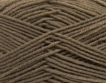 Fiber Content 50% Wool, 50% Acrylic, Brand ICE, Camel, Yarn Thickness 4 Medium  Worsted, Afghan, Aran, fnt2-42531