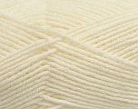 Fiber Content 50% Acrylic, 50% Wool, Light Cream, Brand ICE, Yarn Thickness 4 Medium  Worsted, Afghan, Aran, fnt2-42536