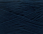 Fiber Content 50% Wool, 50% Acrylic, Navy, Brand Ice Yarns, Yarn Thickness 4 Medium  Worsted, Afghan, Aran, fnt2-42541