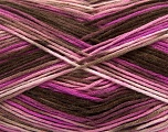 Fiber Content 100% AntiBacterial Micro Dralon, Pink Shades, Brand Ice Yarns, Brown Shades, Yarn Thickness 2 Fine  Sport, Baby, fnt2-42657