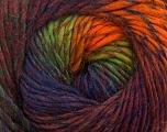 Fiber Content 70% Dralon, 30% Wool, Orange, Navy, Maroon, Brand Ice Yarns, Green, Burgundy, Yarn Thickness 4 Medium  Worsted, Afghan, Aran, fnt2-42705