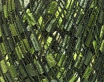 Trellis  Fiber Content 100% Polyester, Brand Ice Yarns, Green Shades, Yarn Thickness 5 Bulky  Chunky, Craft, Rug, fnt2-42716