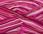 Fiber Content 50% Bamboo, 50% Cotton, Pink Shades, Brand Ice Yarns, Yarn Thickness 3 Light  DK, Light, Worsted, fnt2-42814