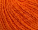 SUPERWASH WOOL BULKY is a bulky weight 100% superwash wool yarn. Perfect stitch definition, and a soft-but-sturdy finished fabric. Projects knit and crocheted in SUPERWASH WOOL BULKY are machine washable! Lay flat to dry. Fiber Content 100% Superwash Wool, Orange, Brand Ice Yarns, Yarn Thickness 5 Bulky  Chunky, Craft, Rug, fnt2-42828