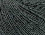 SUPERWASH WOOL is a DK weight 100% superwash wool yarn. Perfect stitch definition, and a soft-but-sturdy finished fabric. Projects knit and crocheted in SUPERWASH WOOL are machine washable! Lay flat to dry. Fiber Content 100% Superwash Wool, Brand ICE, Dark Grey, Yarn Thickness 3 Light  DK, Light, Worsted, fnt2-42923