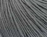 SUPERWASH WOOL is a DK weight 100% superwash wool yarn. Perfect stitch definition, and a soft-but-sturdy finished fabric. Projects knit and crocheted in SUPERWASH WOOL are machine washable! Lay flat to dry. Fiber Content 100% Superwash Wool, Brand Ice Yarns, Grey, Yarn Thickness 3 Light  DK, Light, Worsted, fnt2-42924
