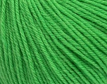 SUPERWASH WOOL is a DK weight 100% superwash wool yarn. Perfect stitch definition, and a soft-but-sturdy finished fabric. Projects knit and crocheted in SUPERWASH WOOL are machine washable! Lay flat to dry. Fiber Content 100% Superwash Wool, Brand Ice Yarns, Green, Yarn Thickness 3 Light  DK, Light, Worsted, fnt2-42932