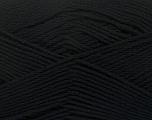 Fiber Content 50% Viscose, 50% Bamboo, Brand Ice Yarns, Black, Yarn Thickness 2 Fine  Sport, Baby, fnt2-43029