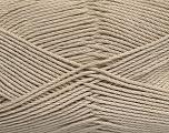 Fiber Content 50% Bamboo, 50% Viscose, Brand Ice Yarns, Beige, Yarn Thickness 2 Fine  Sport, Baby, fnt2-43032
