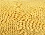 Fiber Content 50% Viscose, 50% Bamboo, Yellow, Brand Ice Yarns, Yarn Thickness 2 Fine  Sport, Baby, fnt2-43035