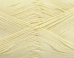 Fiber Content 50% Viscose, 50% Bamboo, Light Yellow, Brand Ice Yarns, Yarn Thickness 2 Fine  Sport, Baby, fnt2-43036