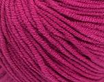 Fiber Content 50% Acrylic, 50% Cotton, Brand ICE, Dark Fuchsia, Yarn Thickness 3 Light  DK, Light, Worsted, fnt2-43069