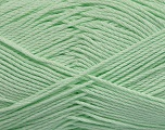 Fiber Content 50% Viscose, 50% Bamboo, Light Green, Brand Ice Yarns, Yarn Thickness 2 Fine  Sport, Baby, fnt2-43135