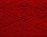 Fiber Content 50% Viscose, 50% Bamboo, Red, Brand Ice Yarns, Yarn Thickness 2 Fine  Sport, Baby, fnt2-43138