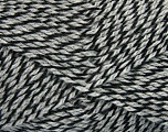 Fiber Content 70% Acrylic, 30% Wool, Brand Ice Yarns, Grey, Black, Yarn Thickness 2 Fine  Sport, Baby, fnt2-43359