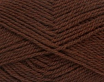 Fiber Content 70% Acrylic, 30% Wool, Brand Ice Yarns, Brown, Yarn Thickness 2 Fine  Sport, Baby, fnt2-43363