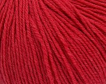 SUPERWASH WOOL is a DK weight 100% superwash wool yarn. Perfect stitch definition, and a soft-but-sturdy finished fabric. Projects knit and crocheted in SUPERWASH WOOL are machine washable! Lay flat to dry. Fiber Content 100% Superwash Wool, Marsala Red, Brand ICE, Yarn Thickness 3 Light  DK, Light, Worsted, fnt2-43508