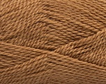 Fiber Content 60% Virgin Wool, 40% Acrylic, Light Brown, Brand Ice Yarns, Yarn Thickness 2 Fine  Sport, Baby, fnt2-43531