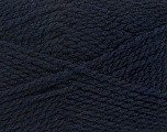 Fiber Content 60% Virgin Wool, 40% Acrylic, Brand Ice Yarns, Dark Navy, Yarn Thickness 2 Fine  Sport, Baby, fnt2-43532