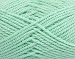 Fiber Content 60% Virgin Wool, 40% Acrylic, Brand Ice Yarns, Baby Green, Yarn Thickness 5 Bulky  Chunky, Craft, Rug, fnt2-43574