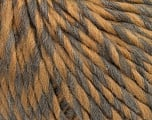 Fiber Content 50% Virgin Wool, 40% Alpaca, 10% Acrylic, Light Brown, Brand ICE, Grey, Yarn Thickness 5 Bulky  Chunky, Craft, Rug, fnt2-43722
