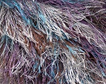 Fiber Content 100% Polyester, Silver, Lilac, Brand ICE, Brown, Blue, Yarn Thickness 6 SuperBulky  Bulky, Roving, fnt2-43760