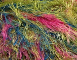 Fiber Content 100% Polyester, Yellow, Pink, Brand Ice Yarns, Green, Blue, Yarn Thickness 6 SuperBulky  Bulky, Roving, fnt2-43763