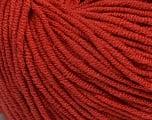 Fiber Content 50% Cotton, 50% Acrylic, Marsala Red, Brand ICE, Yarn Thickness 3 Light  DK, Light, Worsted, fnt2-43833
