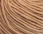 Fiber Content 50% Acrylic, 50% Cotton, Latte, Brand ICE, Yarn Thickness 3 Light  DK, Light, Worsted, fnt2-43835