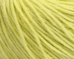 Fiber Content 50% Cotton, 50% Acrylic, Lemon Yellow, Brand Ice Yarns, Yarn Thickness 3 Light  DK, Light, Worsted, fnt2-43836