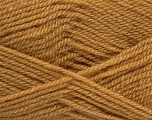 Fiber Content 100% Premium Acrylic, Light Brown, Brand Ice Yarns, Yarn Thickness 3 Light  DK, Light, Worsted, fnt2-43839