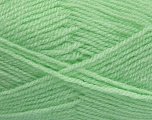 Fiber Content 100% Premium Acrylic, Brand Ice Yarns, Baby Green, Yarn Thickness 3 Light  DK, Light, Worsted, fnt2-43845
