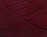 Fiber Content 100% Premium Acrylic, Brand Ice Yarns, Burgundy, Yarn Thickness 3 Light  DK, Light, Worsted, fnt2-43846