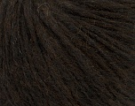 Fiber Content 27% Acrylic, 23% Nylon, 23% Wool, 15% Alpaca Superfine, 12% Viscose, Brand ICE, Dark Brown, Yarn Thickness 4 Medium  Worsted, Afghan, Aran, fnt2-44004