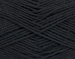 Fiber Content 100% Cotton, Brand Ice Yarns, Black, Yarn Thickness 3 Light  DK, Light, Worsted, fnt2-44316