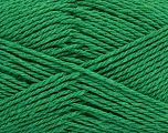 Fiber Content 100% Cotton, Brand Ice Yarns, Green, Yarn Thickness 3 Light  DK, Light, Worsted, fnt2-44317