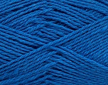 Fiber Content 100% Cotton, Brand Ice Yarns, Blue, Yarn Thickness 3 Light  DK, Light, Worsted, fnt2-44318