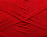 Fiber Content 100% Cotton, Red, Brand Ice Yarns, Yarn Thickness 3 Light  DK, Light, Worsted, fnt2-44320