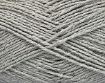 Fiber Content 100% Cotton, Light Grey, Brand Ice Yarns, Yarn Thickness 3 Light  DK, Light, Worsted, fnt2-44322