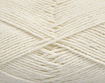 Fiber Content 100% Cotton, Off White, Brand Ice Yarns, Yarn Thickness 3 Light  DK, Light, Worsted, fnt2-44324