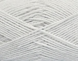 Fiber Content 100% Cotton, White, Brand Ice Yarns, Yarn Thickness 3 Light  DK, Light, Worsted, fnt2-44325