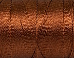 Fiber Content 100% Polyester, Brand Ice Yarns, Brown, Yarn Thickness 0 Lace  Fingering Crochet Thread, fnt2-44826
