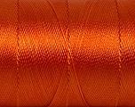 Fiber Content 100% Polyester, Orange, Brand Ice Yarns, Yarn Thickness 0 Lace  Fingering Crochet Thread, fnt2-44836