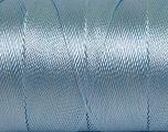 Fiber Content 100% Polyester, Light Blue, Brand Ice Yarns, Yarn Thickness 0 Lace  Fingering Crochet Thread, fnt2-44839
