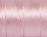 Fiber Content 100% Polyester, Light Pink, Brand Ice Yarns, Yarn Thickness 0 Lace  Fingering Crochet Thread, fnt2-44842