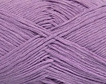 Please note that the yarn weight and the ball length may vary from one color to another for this yarn. Fiber Content 100% Cotton, Lilac, Brand Ice Yarns, Yarn Thickness 3 Light  DK, Light, Worsted, fnt2-44868