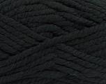 Fiber Content 55% Acrylic, 45% Wool, Brand Ice Yarns, Black, Yarn Thickness 6 SuperBulky  Bulky, Roving, fnt2-45120
